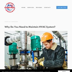 Why Do You Need to Maintain HVAC System?
