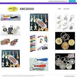 Why One Should Buy Key Chains? – ABC2000
