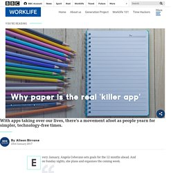 Why Paper Is the Real 'Killer App'