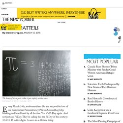 Why Pi Matters