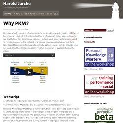 Why PKM?