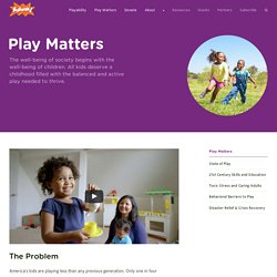 Why Play Matters