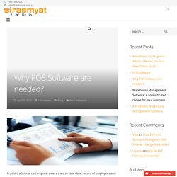 Why POS Software are needed?