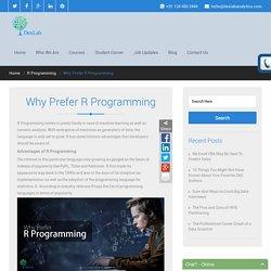 Why Prefer R Programming