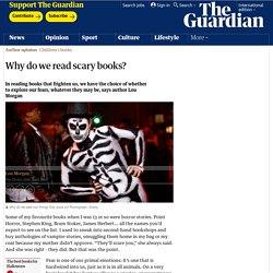 Why do we read scary books?