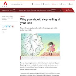 Why you should stop yelling at your kids