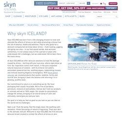 Why skyn ICELAND