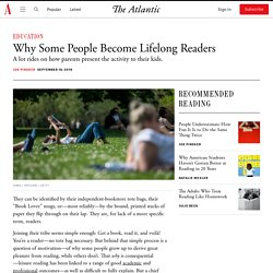 Why Do Some People Love Reading?