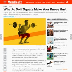 Why Squatting Hurts Your Knees