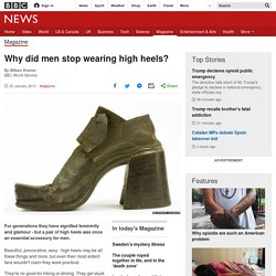 Why did men stop wearing high heels?