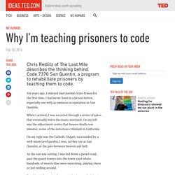 Why I'm teaching prisoners to code
