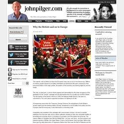 Why the British said no to Europe