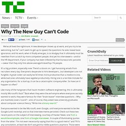 Why The New Guy Can't Code