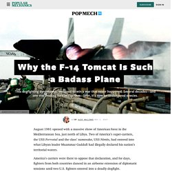 Why the F-14 Tomcat Is Such a Badass Plane