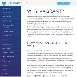 Why Vagrant? - Vagrant Documentation