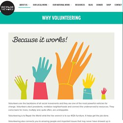 Why Volunteering