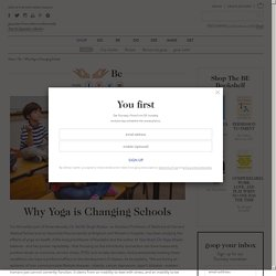 Why Yoga is Changing Schools