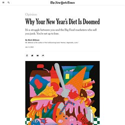 Why Your New Year's Diet Is Doomed