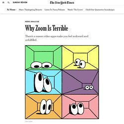 Why Zoom Is Terrible