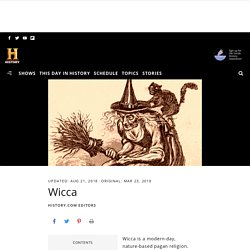 Wicca - HISTORY