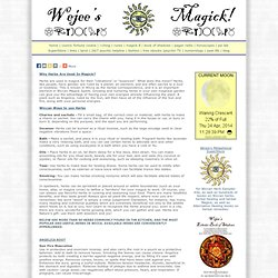 Wicca herb chart Wiccan herbal correspondences for Wicca herbs