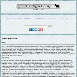 Wiccan History