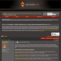 The Free Software Thread - WickedFire