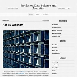 Stories on Data Science and Analytics