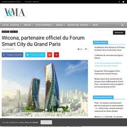 Wicona, partenaire officiel du Forum Smart City du Grand Paris -