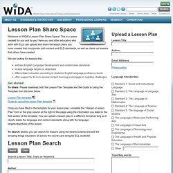 Lesson Plan Share Space