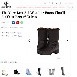 Wide Calf Boots - Shoes For Curvy Women