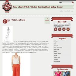 Wide Leg Pants « I Heart Jenny's Art