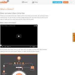 Crea videos animados online gratis