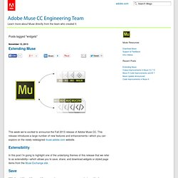 widgets « Adobe Muse CC Engineering Team