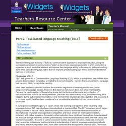 Widgets - A task-based course in practical English