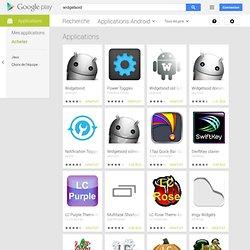 widgetsoid - Google Play