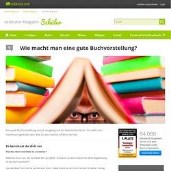 Buchvorstellung: Wie macht man eine gute Buchvorstellung?