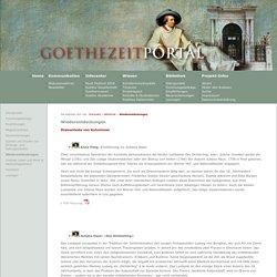 Wiederentdeckungen - Das Goethezeitportal
