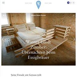 Wiener Gäste Zimmer: Übernachten beim Essigbrauer- A-List