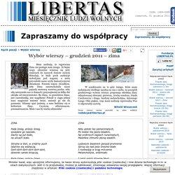 Wybór wierszy – grudzień 2011 – zima - Kącik poezji ...