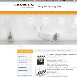 4CH Wifi NVR Kits Supplier – LS VISION