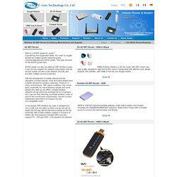 Professional Wireless 3G WiFi Router & Gateway Manufacturer and Supplier - E-Lins technology Co., Ltd