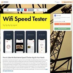 3G Network speed test