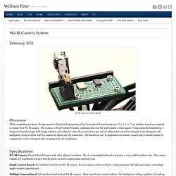 Wii IR Camera System