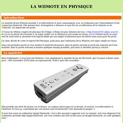 Wii-Physique