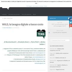 WiiLD, la lavagna digitale a basso costo – BRICKS