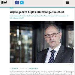 Wijsbegeerte blijft zelfstandige faculteit - Erasmus Magazine