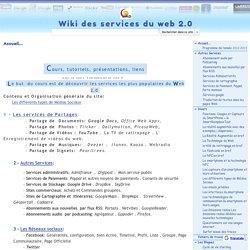 Wiki des services du web 2.0