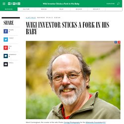 Wiki Inventor Sticks a Fork in His Baby