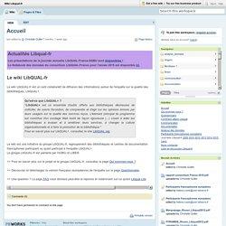 Wiki Libqual-fr / Accueil